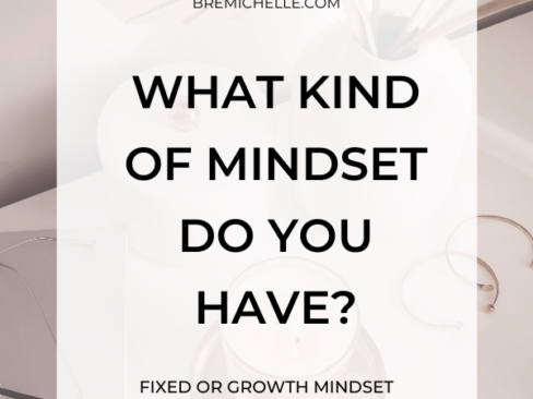 Bre Michelle What Kind Of Mindset Do You Have? Fixed or Growth Mindset for Millennial Women